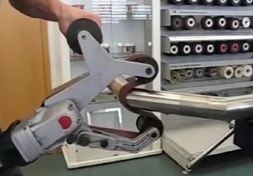 手工焊道打磨抛光流程