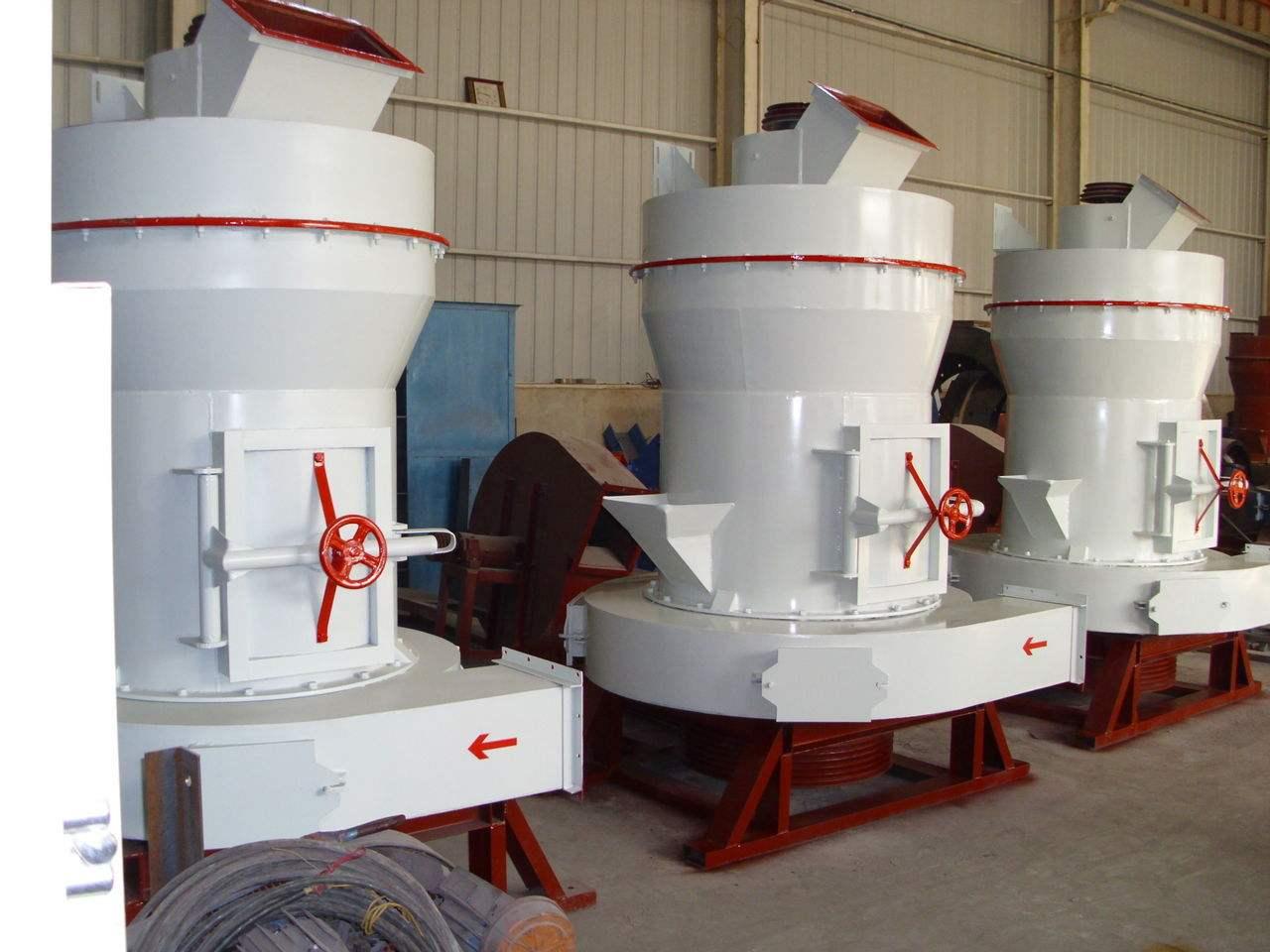 关于雷蒙磨粉机物料研磨的范围
